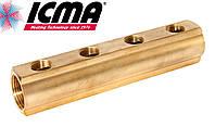 Простой коллектор 3/4*1/2  4 выхода ICMA Арт.1102