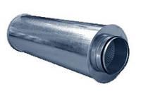 Шумоглушитель для круглых каналов RMN