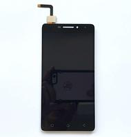 Оригинальный дисплей (модуль) + тачскрин (сенсор) для Lenovo Vibe P1m (черный цвет)