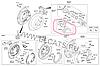 Колодки тормозные дисковые, комплект на Kia Sportage.Код:J3 610 512