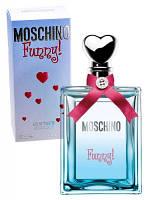 Moschino Funny (Набор туалетная вода 4 мл + парфюмированный гель для тела 25 мл + гель для душа 25 мл)