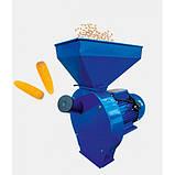 Кормоизмельчители ДТЗ КР-01 (зерно)1,8 квт.,(пшеница, ячмень, овес и т.д.)ДТЗ КР-02 (зерно+початки кукурузы) п, фото 2