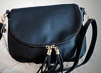 Женская сумка-клатч черного цвета
