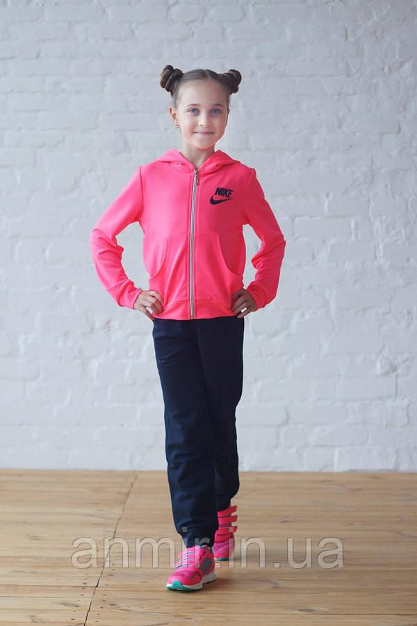 """Спортивный костюм  для девочки 7-11 лет,""""Nike"""",Розовый, фото 1"""