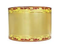 Лента флористическая траурная - №9 (8 см х 50 ярдов) бронзовая