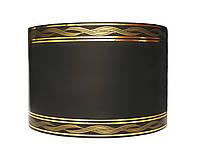 Лента флористическая траурная - №10 (8 см х 50 ярдов) черная