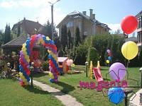 Оформление шарами в Днепропетровске, воздушные шары.