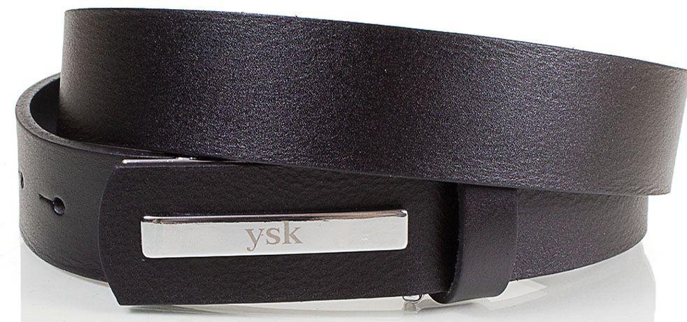 Мужской ремень из натуральной кожи YSK