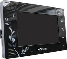 Цветной домофон Kocom KCV-A374SD (black/white)