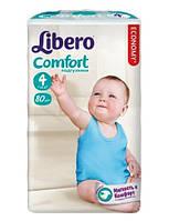 Подгузники Libero Comfort 4 Maxi (Либеро) 7-14 кг №80