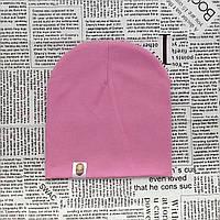 Шапка однотонная для девочки Варе Kids  Насыщенно розовый