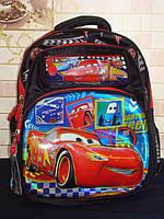 """Школьный рюкзак для мальчиков"""" тачки"""""""
