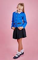 Трикотажный пиджак для девочки-подростка