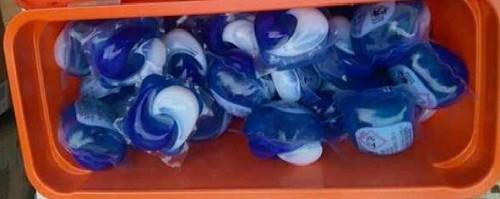 Гелевые капсулы для стирки Vizir Lenor  41 шт. для белого и цветного белья, фото 3