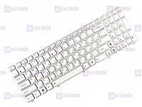 Оригинальная клавиатура для ноутбука Asus K53Sc, K53Sd, K53Sf, K53Sj, K53Sv, K54, K54C series, white, ru