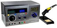 13-00-031. Паяльная станция ZD-8901, с 3 дисплеями и тестером, 40W, 160-520°C