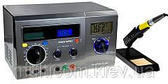 13-00-011. Паяльная станция ZD-8901, цифровая 40W с тестером и дисплеем, 160-520°C