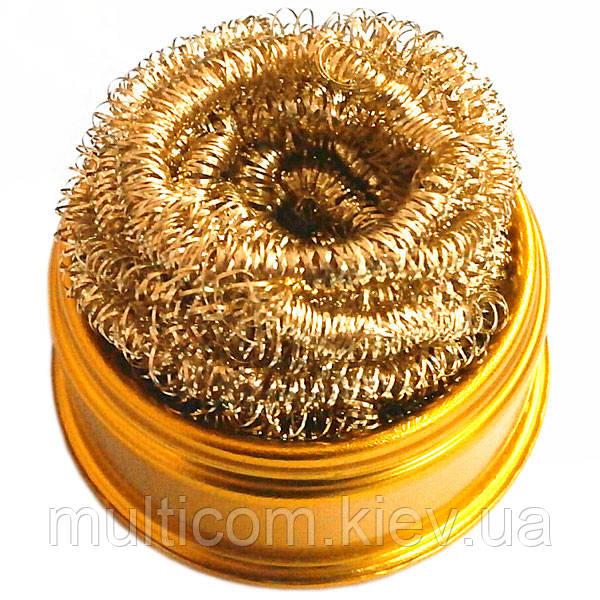 13-03-041. Губка металическая для очистки жала, ZD-10W-2