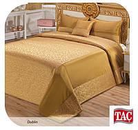 Покрывало 260х270см ТАС Dublin gold золото