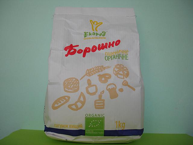 Мука пшеничная органическая 1,0 кг.
