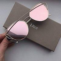 Очки Dior розовые
