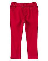 Джинсы для девочек 3, 4, 5 лет Красный Мак  Crazy8 (США)