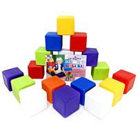 Кубики 20 шт 02-603 Киндервей