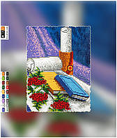"""Схема для вышивки бисером на подрамнике (холст) """"Украинский натюрморт"""" (полная зашивка)"""