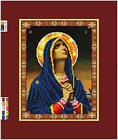 """Схема для вышивки бисером на подрамнике (холст) """"Обращение к Господу Богу"""""""