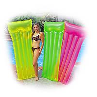 Пляжный надувной матрас,3 цвета 183-69 Intex 59702, фото 1