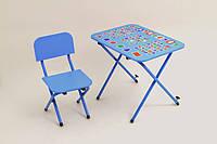 Детская парта со стульчиком Ommi Optima Голубой, фото 1