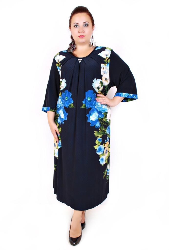 Нарядное платье Очарование супер баталы