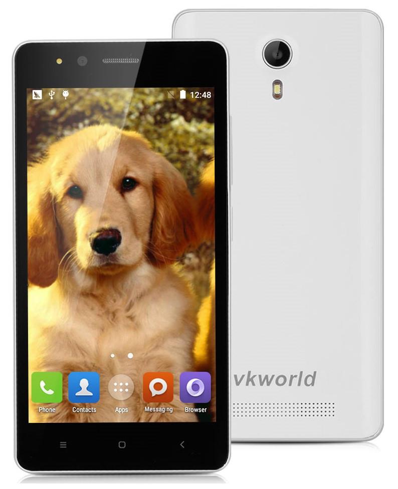 VKworld F1 White  1/8 Gb, MT6580, 3G