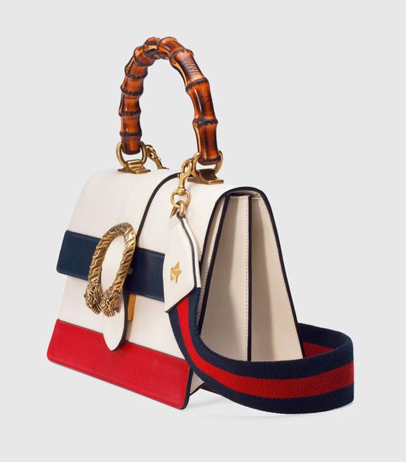 Женская кожаная сумочка Gucci Dionysus сезон осень-зима 2016