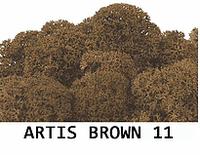 Стабилизированный мох. Цвет Artis Brown 11