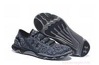 Мужские кроссовки Under Armour Speeddform Apollo GR2 Black/Grey Реплика, фото 1