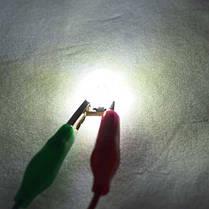Лед лампа в габарит SLS LED, с обманкой Can шины, цоколь W5W(T10) 2 светодиода в силиконе 12 В. Белый, фото 2