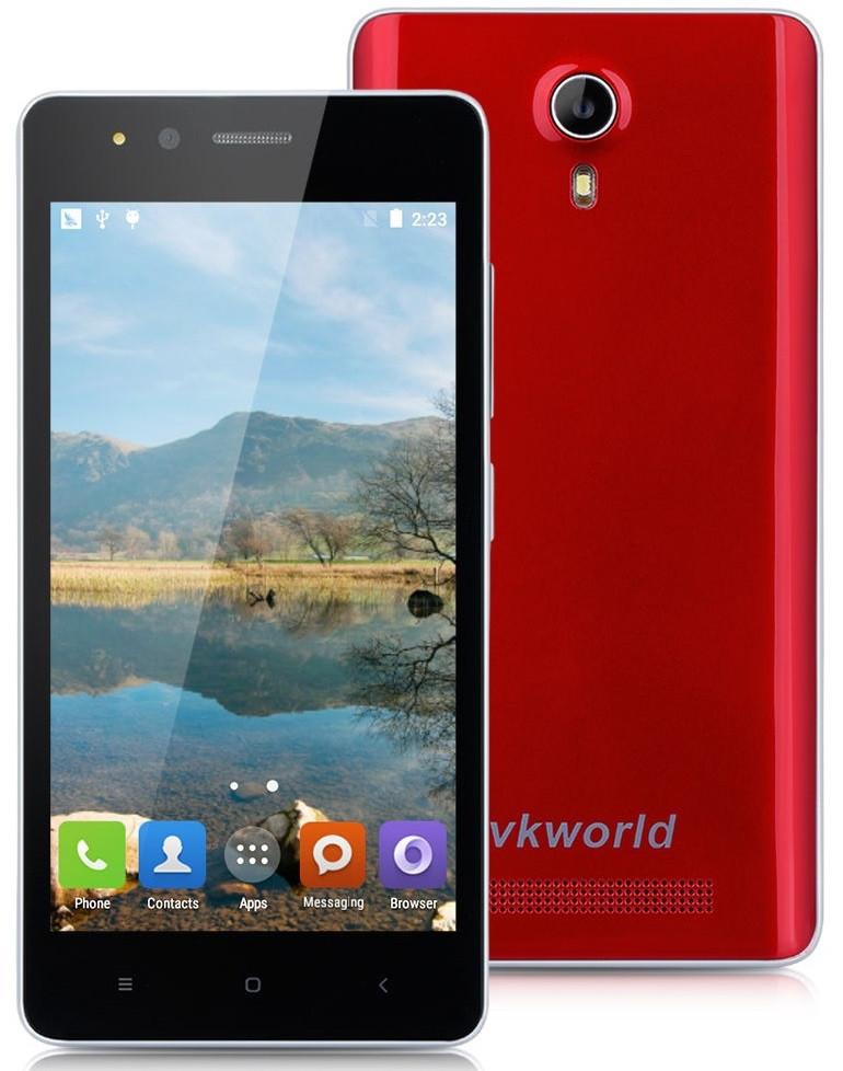 VKworld F1 Red  1/8 Gb, MT6580, 3G