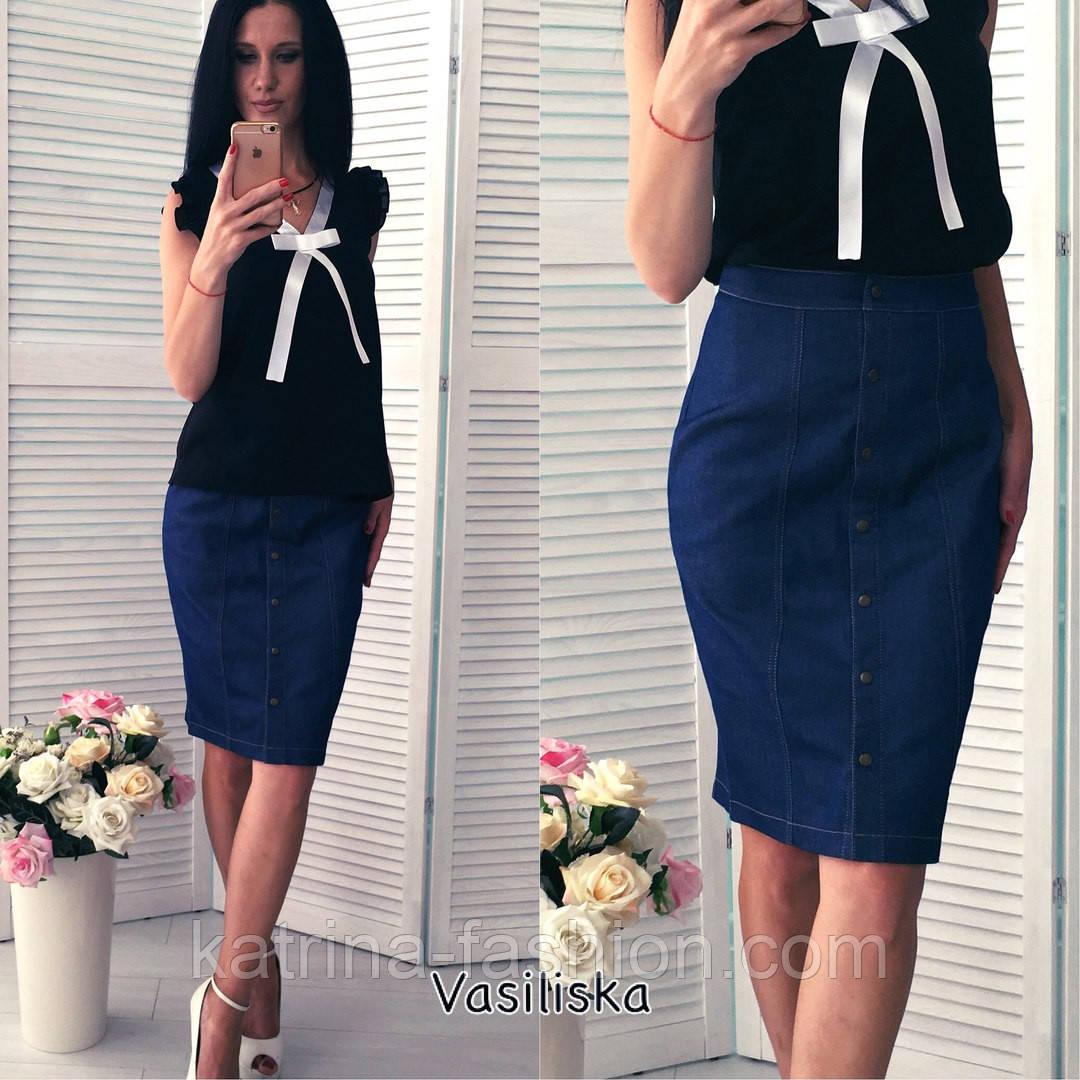 8d97913430d Женская красивая джинсовая юбка-карандаш