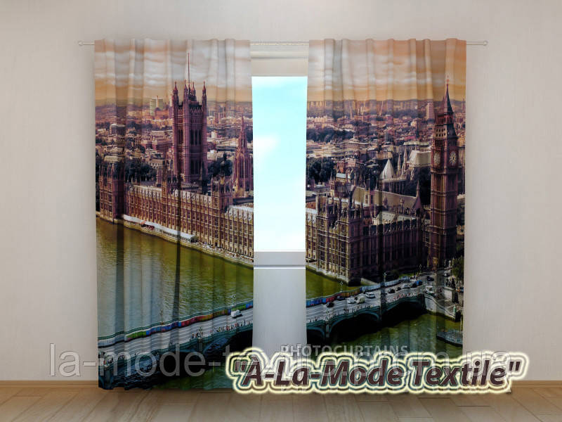 "Фотошторы ""Лондон""  2,5*2,6"