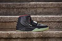 Женские  кроссовки Nike Air Yeezy 2 Black