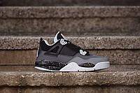 Мужские кроссовки Nike Air Jordan 4 Retro Stealth Oreo