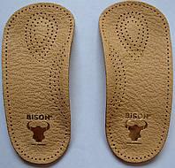 Bison ORTOS 2/3. Ортопедические полустельки для узкой обуви при продольно-поперечном плоскостопии.