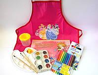 """Набор для рисования """"Принцесса-Художница"""" 9 предметов"""