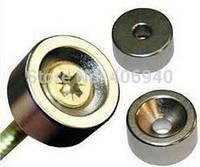 Неодимовый магнит  под шуруп   15мм/5мм (2.5 кг), фото 1