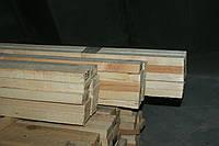 Монтажна рейка не стругана (суха) 25*50