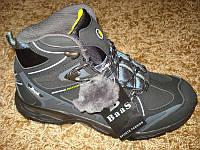 Качественные кроссовки на цегейке черные BAAS (41/42/43/44/45), фото 1