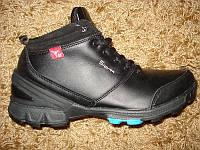 Качественные Зимние кроссовки Ессо кожаные (44), фото 1