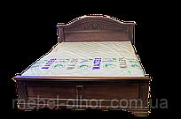 Кровать из дерева Флоренция (140*200) венге
