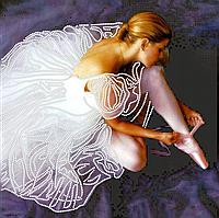 Схема для вышивки бисером POINT ART Премьера, размер 25х25 см
